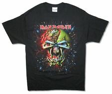 Iron Maiden Frontier Explosion Mens Black T Shirt Final New Official