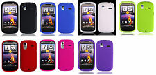 Silicone Soft Flexible Cover Phone Case for HTC Amaze 4G Ruby