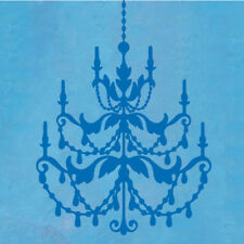 The Decal Guru French Chandelier Wall Decal