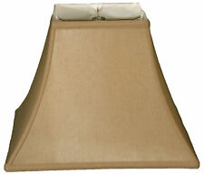 "Royal Designs 16"" Timeless Silk Bell Lamp Shade"