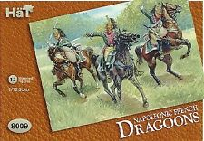 Hat Industries 8009 1:72 Napoleonic French Dragoons (12 Mtd)