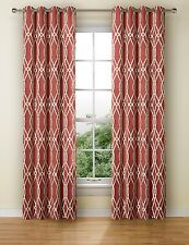 New M&S Jacquard RING TOP Eyelet CURTAINS ~ W 53