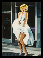 'Marilyn Monroe the Seven-Year Itch' by Karl Black Framed Painting Print