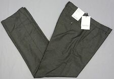 NWT $79 Calvin Klein Charcoal Grey Dress Pants Flat Front Mens 31 34 36 NEW