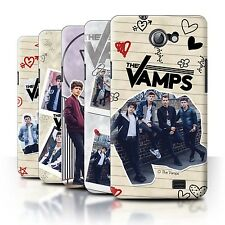 Official The Vamps Case/Cover for Samsung Galaxy R/I9103 /The Vamps Doodle Book