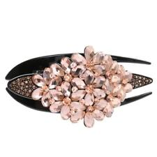 Women New Fashion Elegant Crystal Rhinestone Hair Claws Clip Pin Accessories