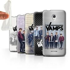 """The Vamps Gel/TPU Case/Cover for Alcatel Pop 4 (5"""") /The Vamps Photoshoot"""