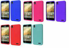 Silicone Jelly Soft Gel Skin Case Phone Cover Accessory for ZTE Warp Elite N9518