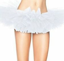 Adult Dance Women's Classic 5-layered Tulle Tutu Halloween Skirt Dance Petticoat