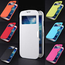 Fashion Magnetic Flip Leather View Case Cover Skin For Samsung Galaxy S4 Mini S5