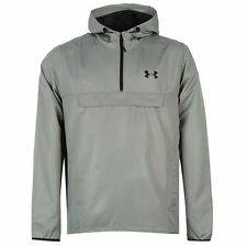 Under Armour Mens Sportstyle Anorak Lightweight Water Repellent Hooded Top