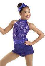 NEW Holly Rock Jazz Tap Baton Skating Dance Competition Costume Adult X-Large XL