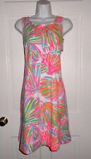 NWT LILLY PULITZER RESORT WHITE SHELLABRATE FIT AND FLARE FELICITY DRESS M L XL