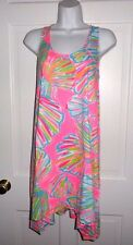 NWT LILLY PULITZER PINK POUT SHELLABRATE MONTEREY DRESS M L XL
