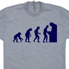 Arcade Evolution Gamer T SHIRT classically trained space invaders eat sleep game