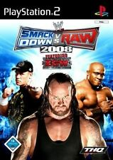 SMACKDOWN VS RAW 2008 PS2 GAME DISC ONLY UK PAL