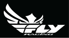 Fly Racing Snow Logo Sticker Decal