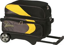 Bowling bag 2-Ball Scooter Track Premium for 2 BowlingBalls and Bowling Shoes