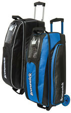 Bowling bag Brunswick ick Razor for 3 Balls, Bowling shoes and accessories