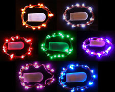20 LED Fairy Christmas Wedding Decorations Lights 2m & Battery Operated