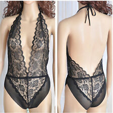 New ! Sexy Black Lingerie Nightwear Underwear Babydoll Sleepwear Lace Lady Dress