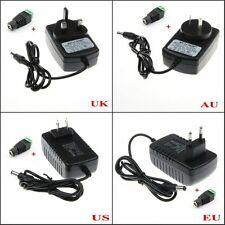 2A Led Strip Power Supply Adapter Charger Converter  AC/100-240V to DC/12V