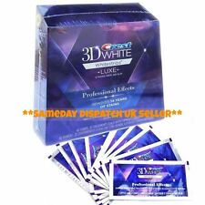 *Crest3D White Professional Whitening Effects Whitestrips 10 POUCHES 20 STRIPS