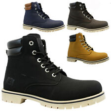 NEW MENS COMBAT WALKING HIKING WINTER MILITARY ARMY WORK ANKLE BOOTS SHOES SIZE