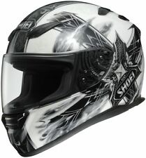 Shoei RF-1100 Motorcycle Helmet - Diabolic Feud White