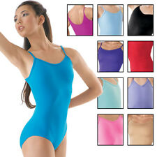 NEW Capezio Balera Dance Camisole Cami Leotard Many Colors Adult Sizes