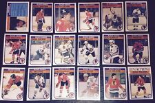 1982-83 OPC CHICAGO BLACK HAWKS Select from LIST NHL HOCKEY CARDS O-PEE-CHEE