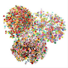 1000Pcs Mixed Nail Art Tips Fimo Decoration Flower Fruit Animal Clay DIY Sticker