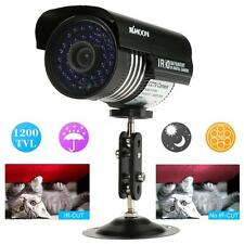 1200TVL CCTV Security Camera Waterproof 36IR 3.6mm Leds IR Day Night PAL D9Y8