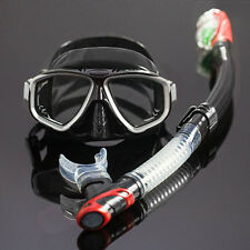 Kids Adults Scuba Snorkeling Swimming Diving Gear Kit Equipment Mask Glasses 13c