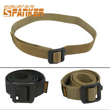 1050D Nylon Double-Sided Tactical Military Waist Web Belt Coyote Brown & Khaki
