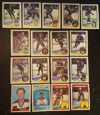 1984-85 OPC BUFFALO SABRES Select from LIST NHL HOCKEY CARDS O-PEE-CHEE