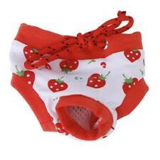 Female Puppy Dog Cotton Physiological Sanitary Pant Panty Menstrual Diaper Short