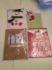 GROUP OF CHRISTMAS GREETING CARDS/GROUP OF 4/NEW/PAPER MAGIC