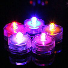 New Waterproof LED Submersible Wedding Floral Decoration Tea Light Flameless 3X