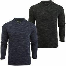 Mens Long Sleeved T-Shirt by Dissident 'Drover' V-Neck
