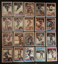 1984-85 OPC WINNIPEG JETS Select from LIST NHL HOCKEY CARDS O-PEE-CHEE