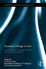 NEW Economic Change in Asia by Hardcover Book (English) Free Shipping
