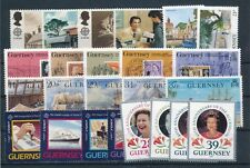 [103159] Guernsey Good lot of Very Fine MNH stamps