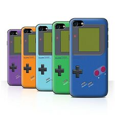STUFF4 Back Case/Cover/Skin for Apple iPhone 7/Video Gamer/Gameboy