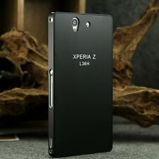 For Sony Xperia Z L36H Ultrathin Aluminum Metal Bumper Back Cover Hard Case