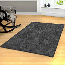Simple Luxury Superior Hand-Woven Gray Area Rug