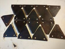15 x Triangle sickle/ scythe mower blades