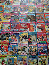 96 STARBLAZER COMICS SPACE FICTION ADVENTURE IN PICTURES COLLECTION BULK LOT