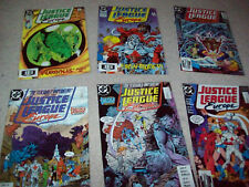 6 x Justice league Europe comic issue 3 7 8 9 10 13 dc comic