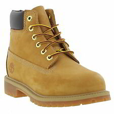 Timberland 6 Inch Premium Kids Classic Waterproof Ankle Boots 12709